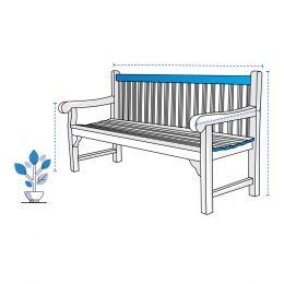 Custom Bench Covers - Design 1