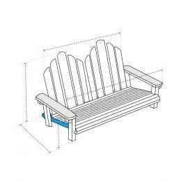 Custom Adirondack Chair Covers - Design 5