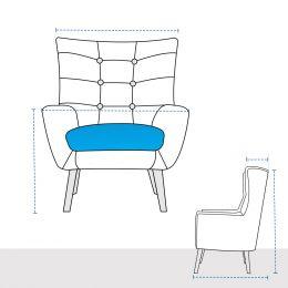 Modular Club Chair Covers - Design 6