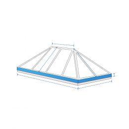 Custom Skylight Covers - Extended Pyramid