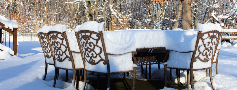 3 Easy Steps to Protect Your Patio Furniture This Winter