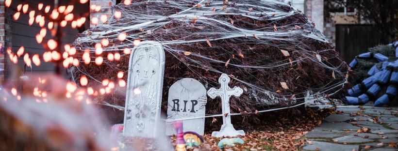 Set the Scene: 5 Creative Ways to Use Custom Covers as Halloween Decor