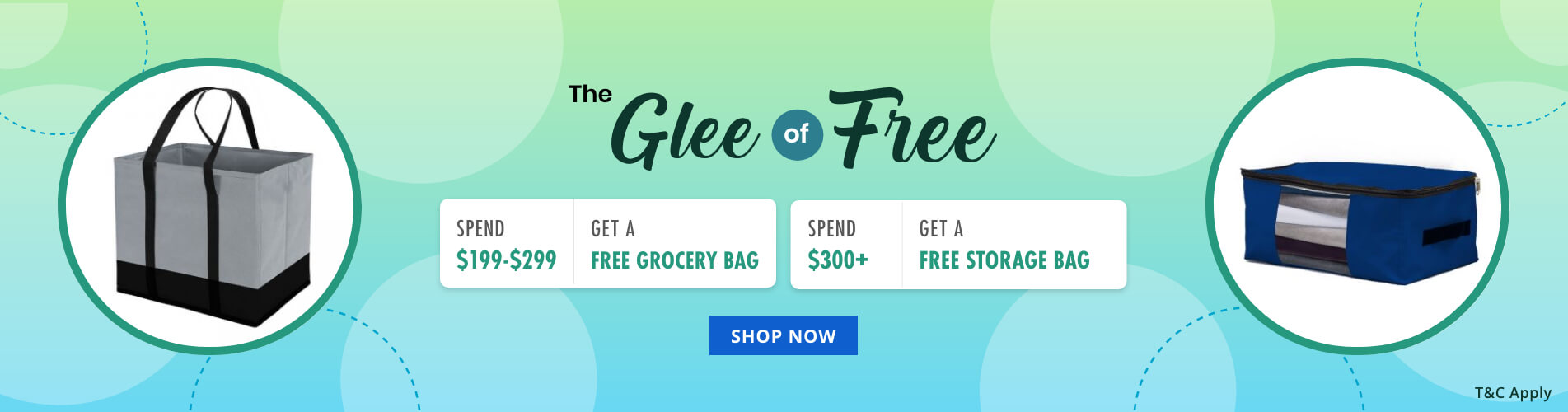 The Glee of Free