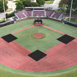 Baseball Weighted Mound Tarps – Rectangle / Square